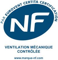 Certificat NF VMC 205 de la Renovent Excellent 300